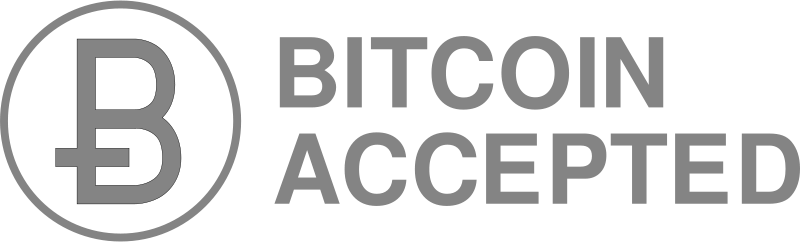 Free circleBitcoinAcceptedGray