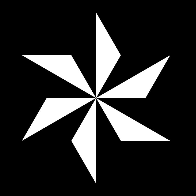 Free outrayj hexagram 12 stripe