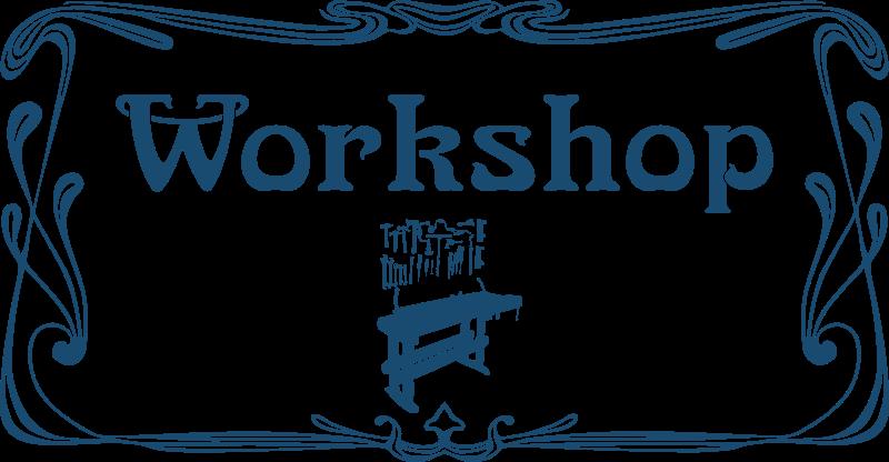 Free Workshop door sign