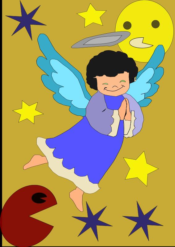Free angel-pacman