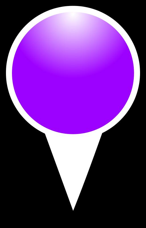 Free squat-marker-purple