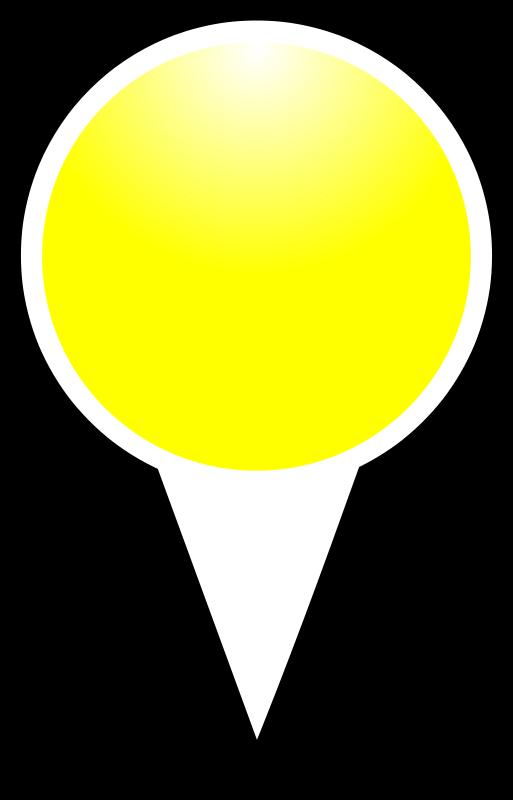 Free squat-marker-yellow