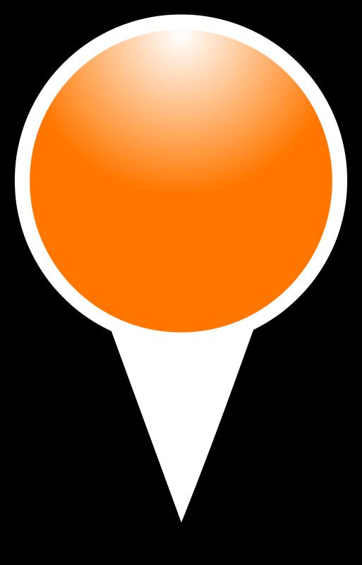 Free squat-marker-orange