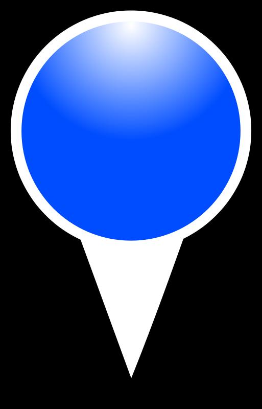 Free squat-marker-blue