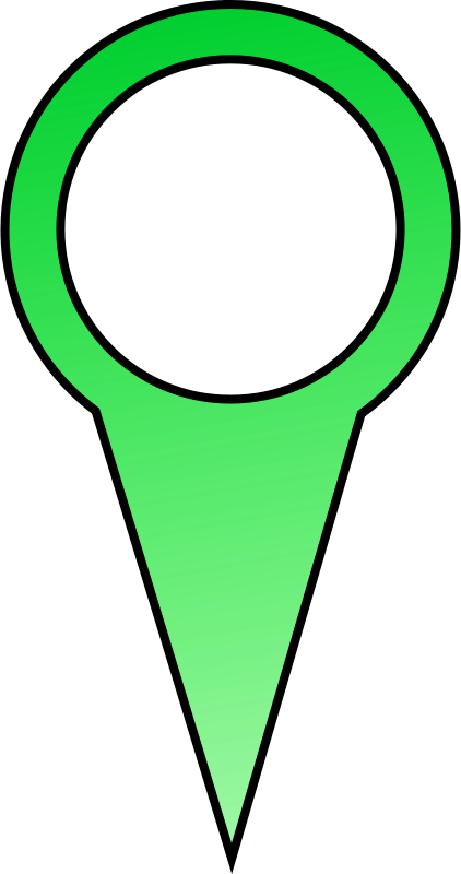 Free Green Map Pin