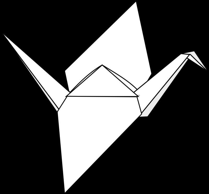 Free Origami Crane