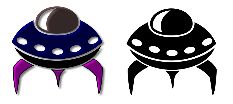 Free Alien Spaceship Icon