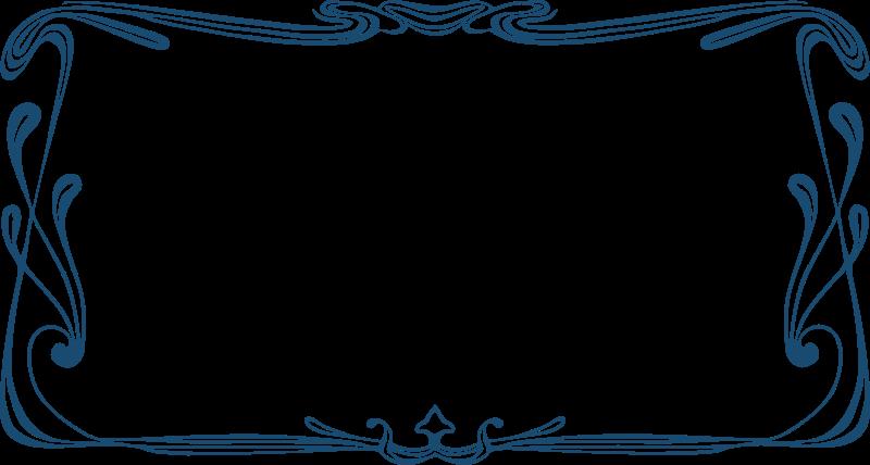 Free Art Nouveau Frame