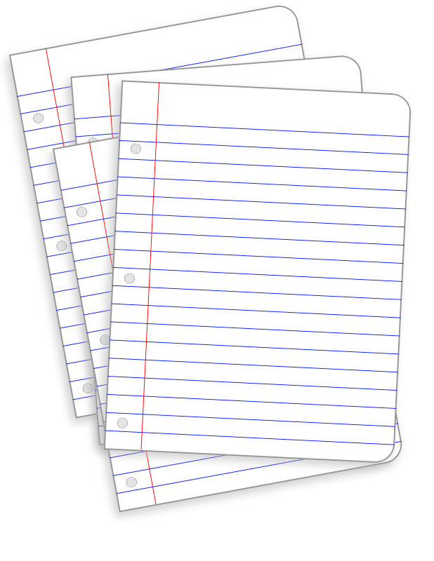 Free messy lined papers