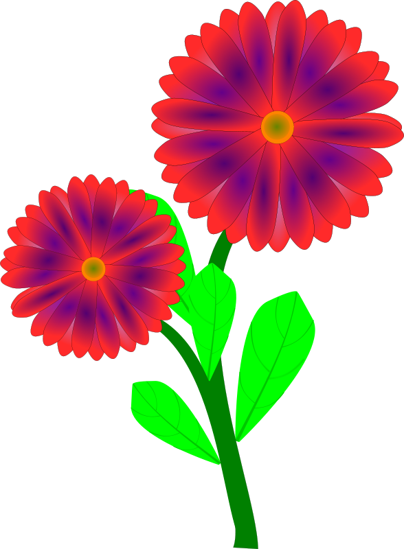 free clipart flowers pauthonic rh 1001freedownloads com free clip art of flowers and plants free clip art of flowers and butterflies