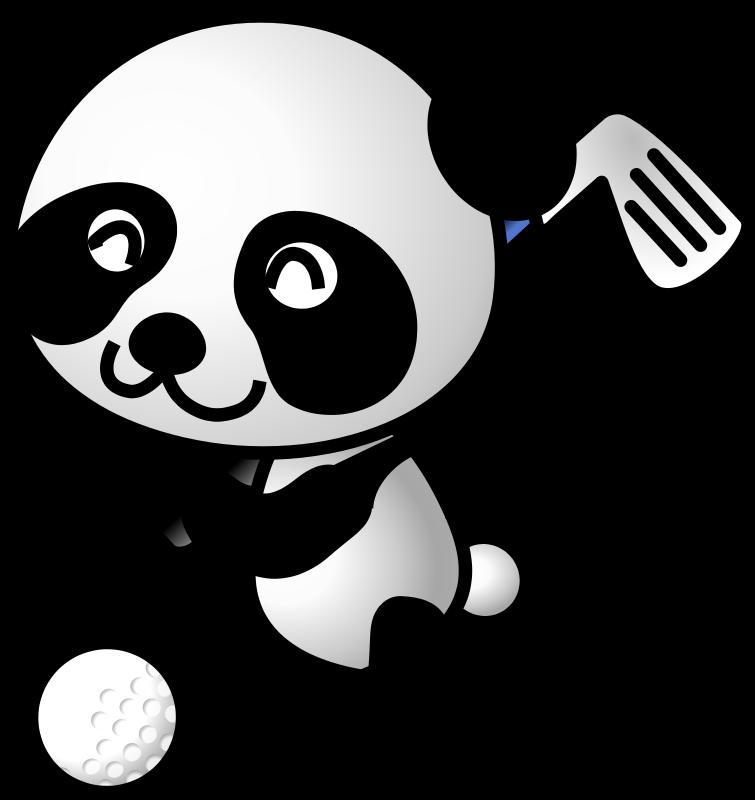 Free golf panda