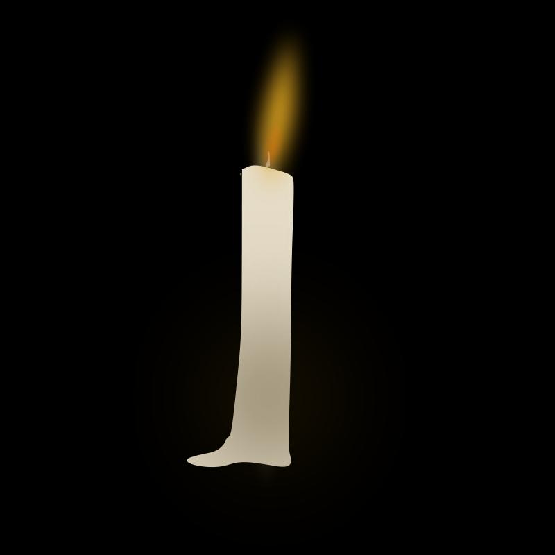 Free Clipart: Candle | chikiyo