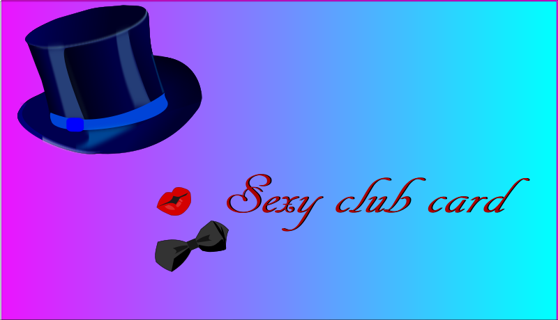 Free sexy club card