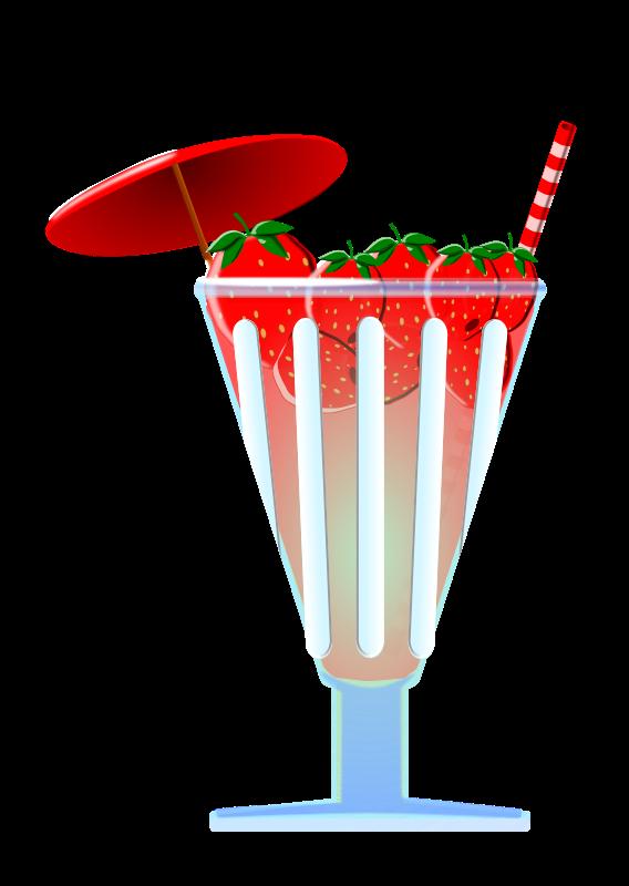 Free strawberry punch