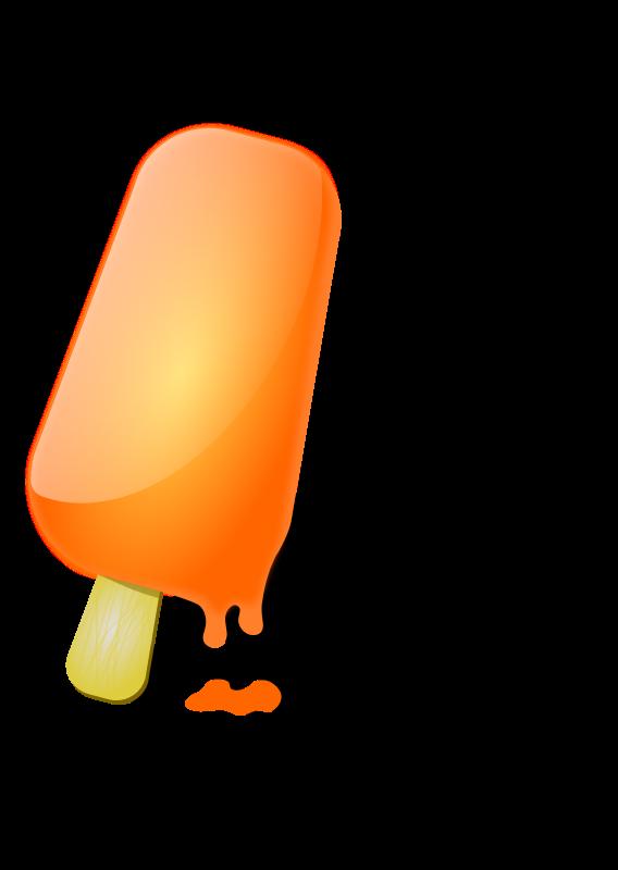 Free Orange ice