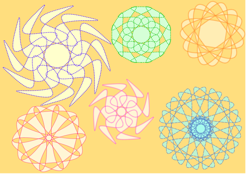 Free Decorative Circles