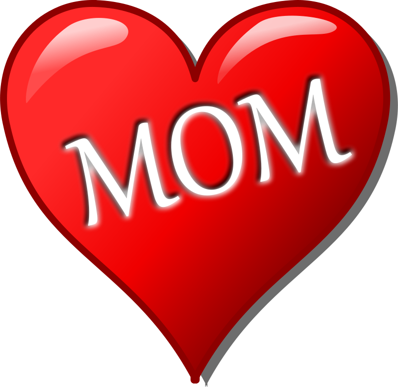 Free Clipart: Mother's day heart | palomaironique