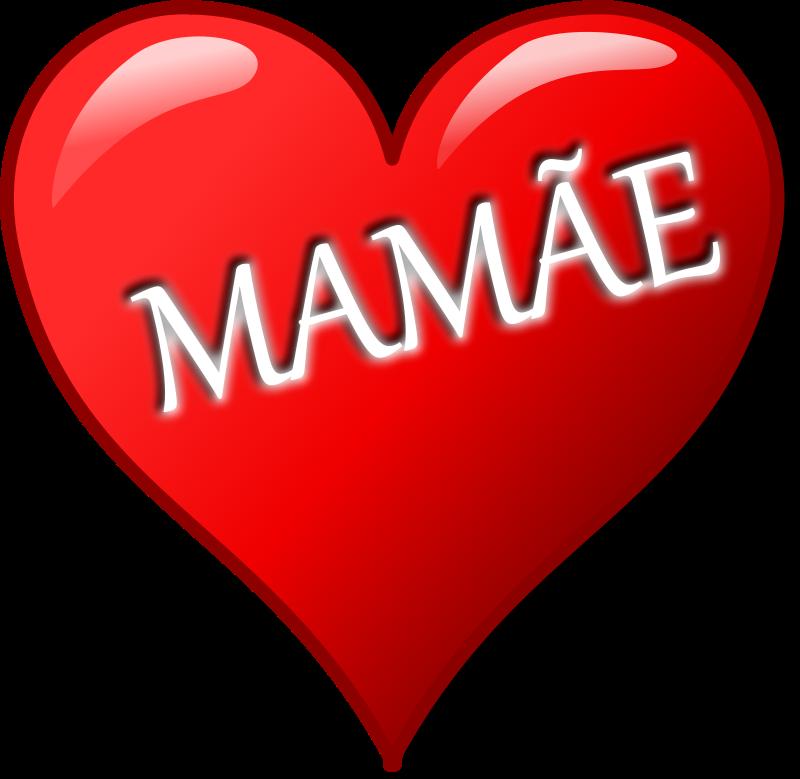 Free Clipart: Coração para o Dia das Mães | palomaironique