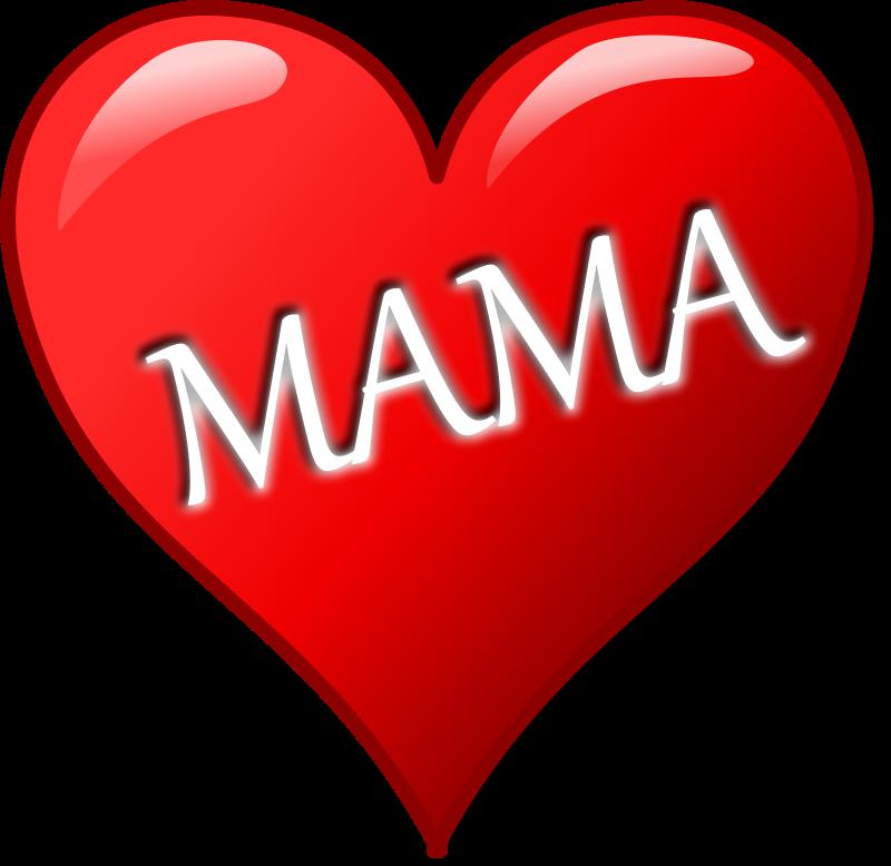 Free Herz für Muttertag