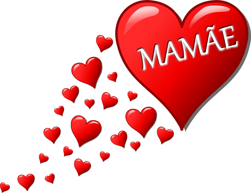 Free Clipart: Hearts for Mom | palomaironique