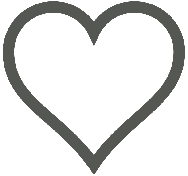 Free Heart Icon (Deselected)