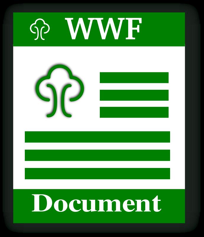 Free WWF format icon