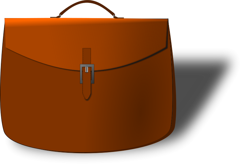 Free Leather briefcase