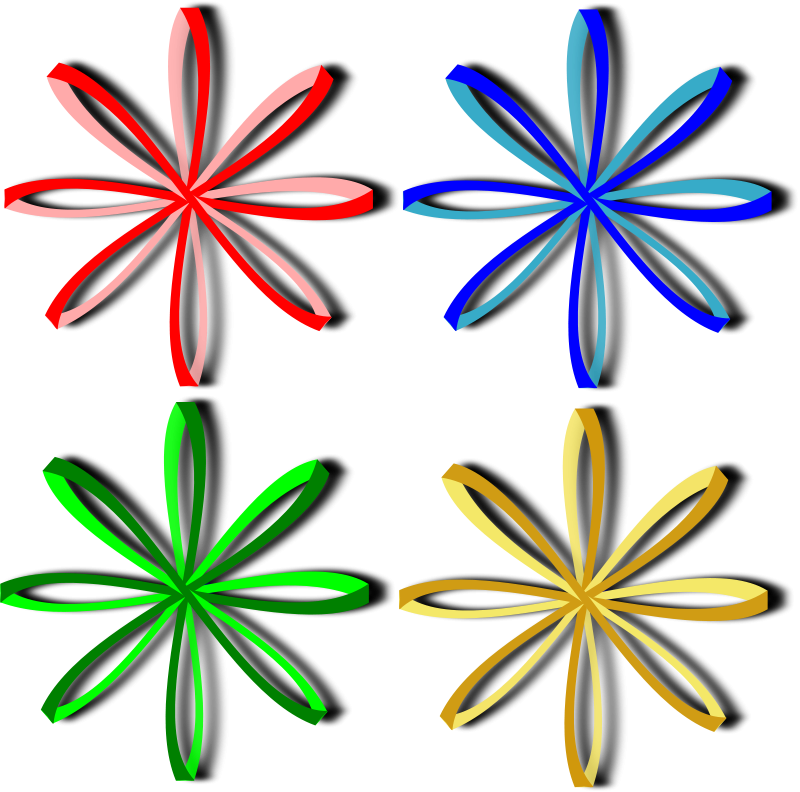 Free Bows, ribbons
