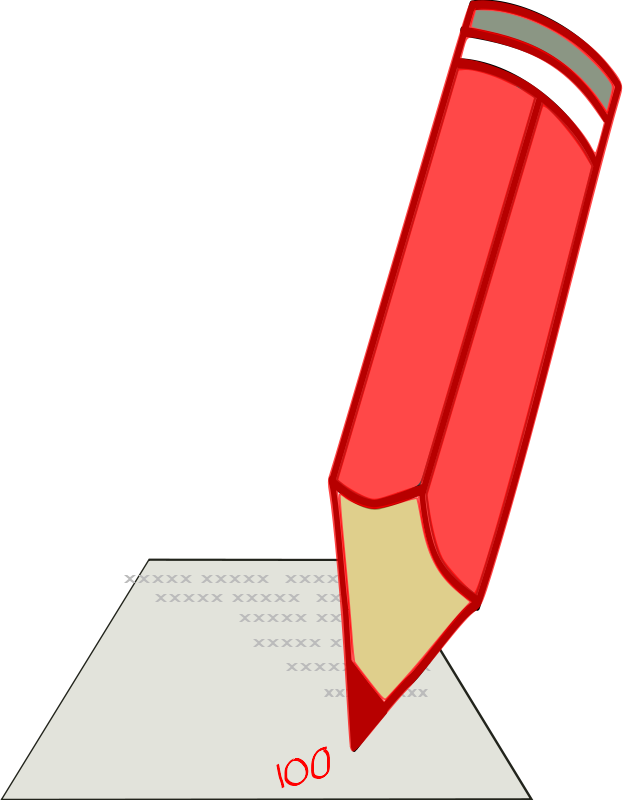 Free Red Pencil