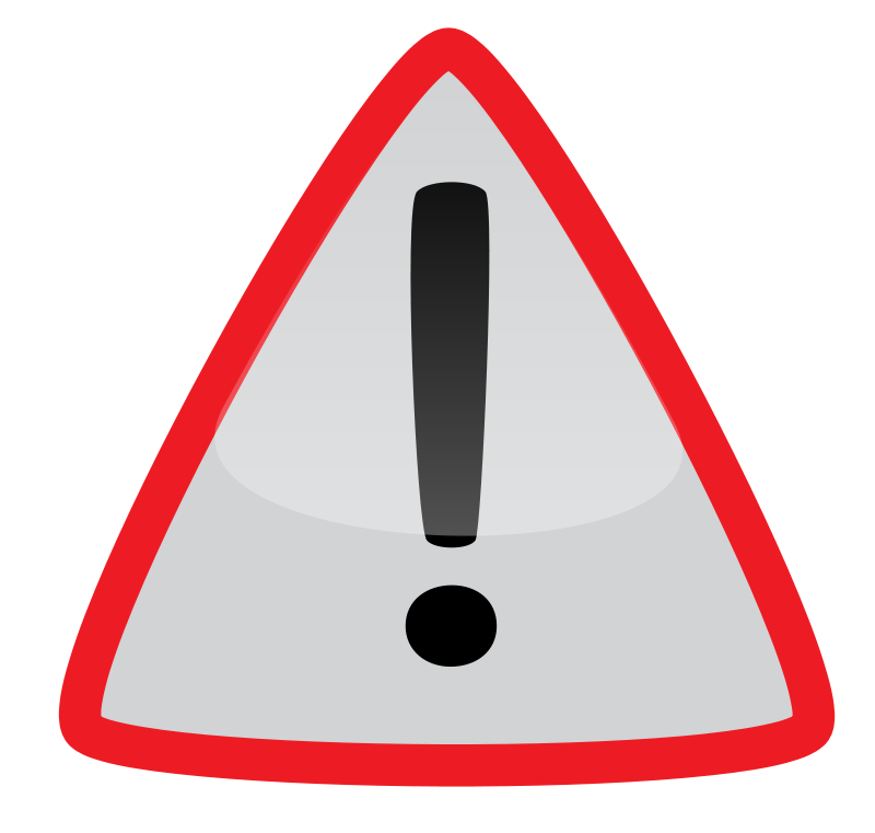 Free Clipart: Warning3 | docguy