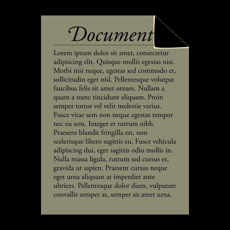 Free Document icon
