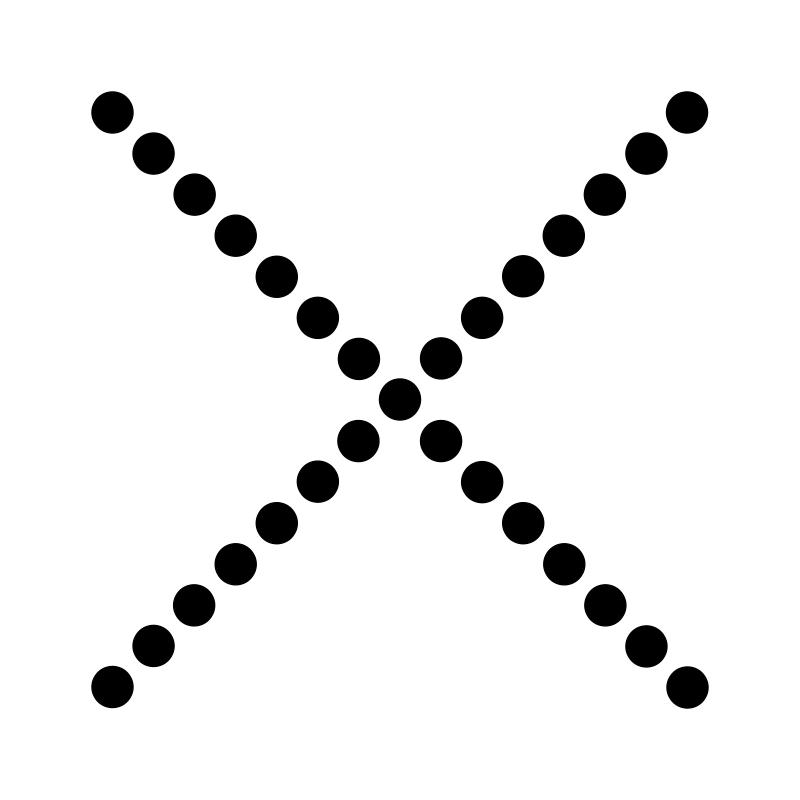 Free Gestalt perception - continuation