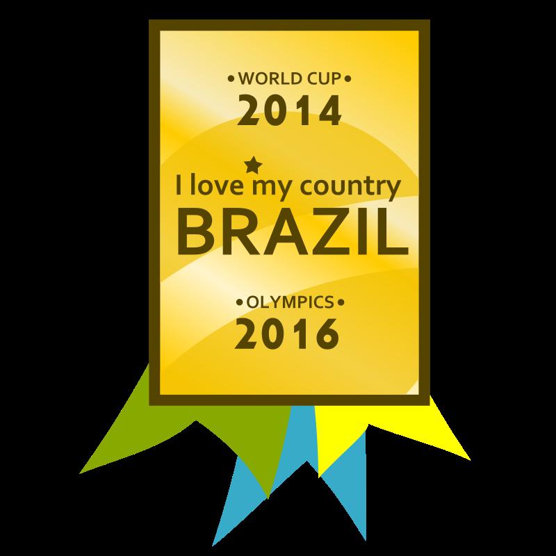 Free Brazil 2014-2016 Medal