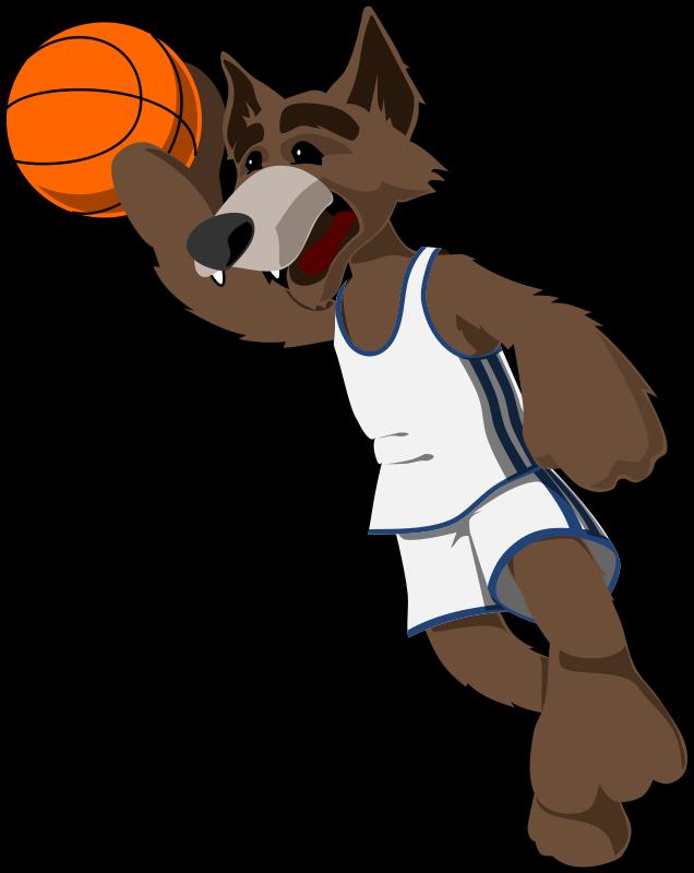 Free basketball wolf