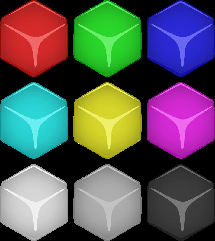 Free Cube Set
