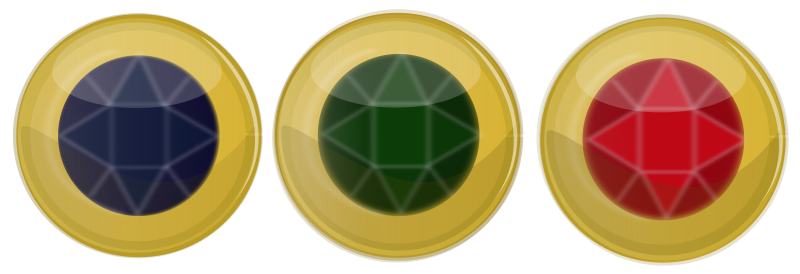 Free Jewel Button Icons