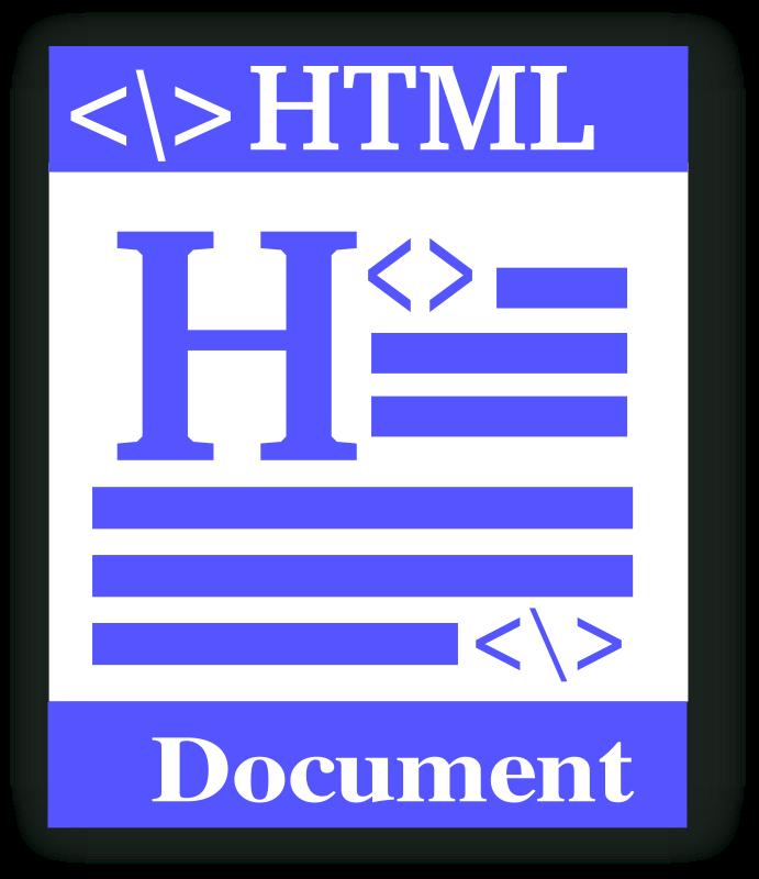 Free HTML file icon