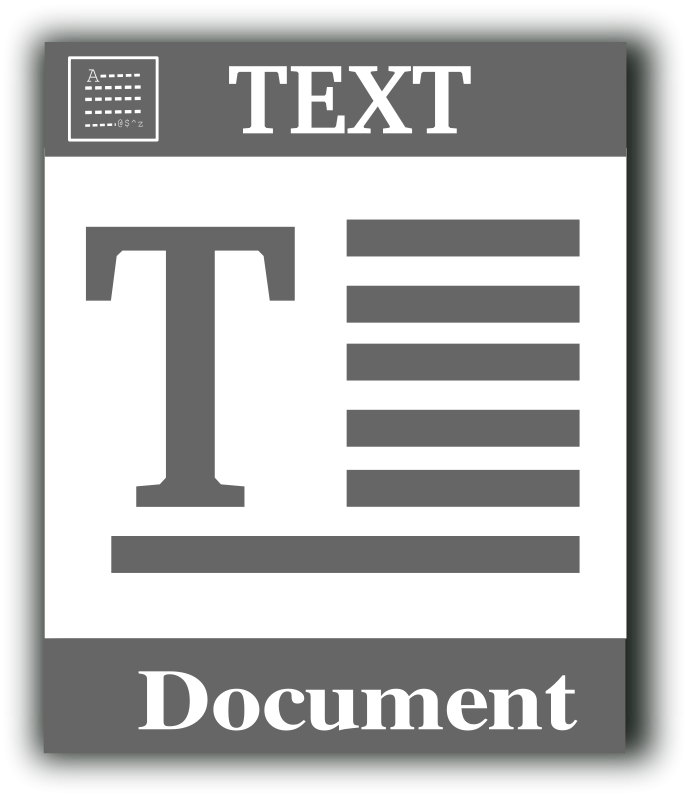 Free Text file icon
