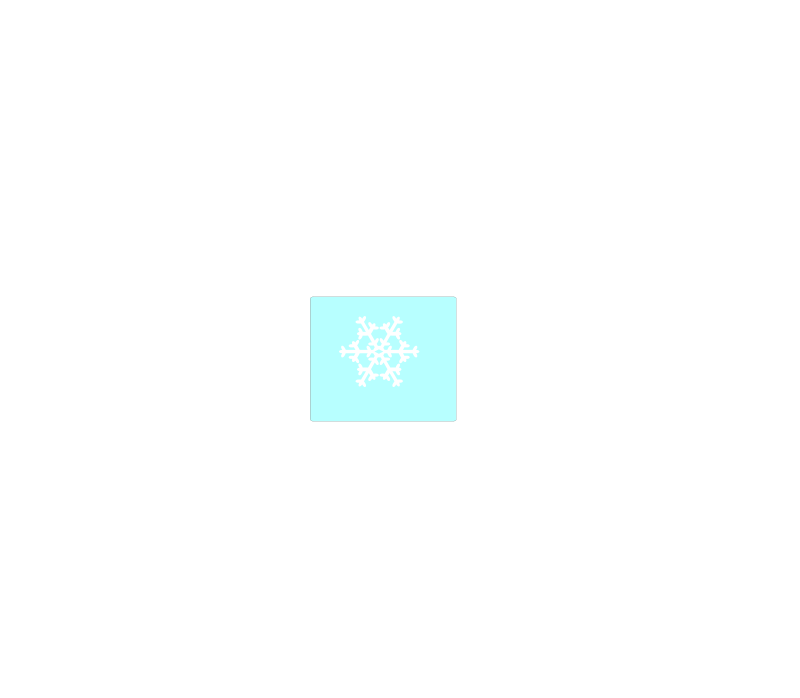 Free Weather symbol: Snow Flake6