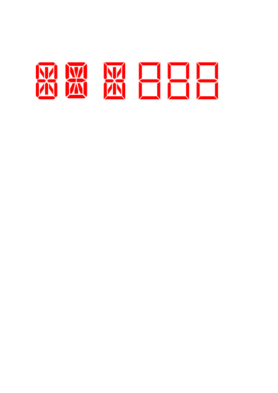 Free digit