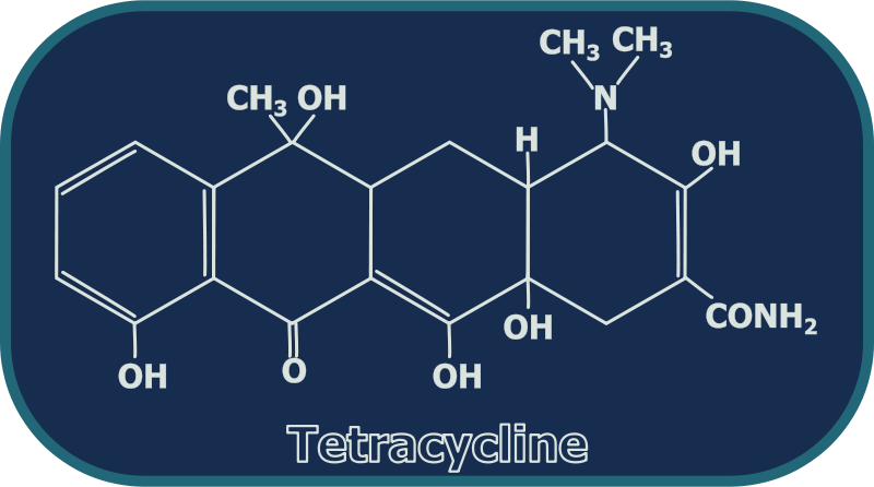 Free Tetracycline Structure