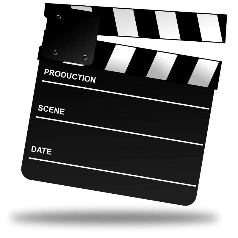 Free Movie Clapper Board