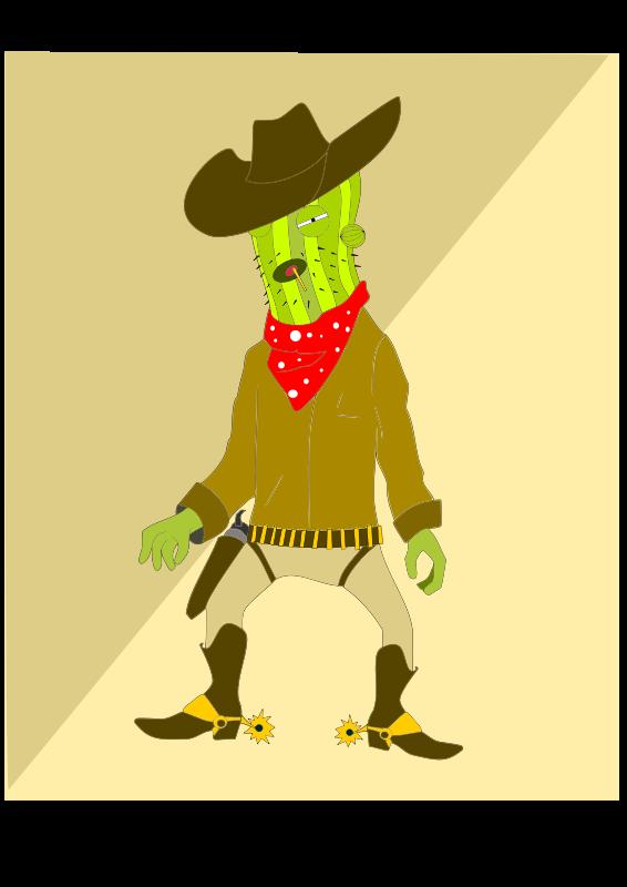 Free Go go Cactus man
