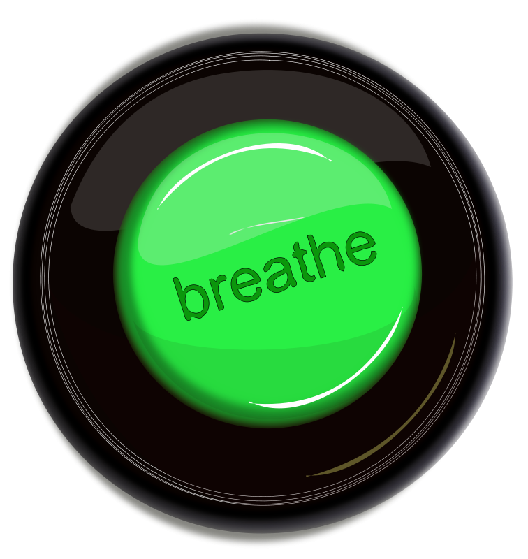 Free breathe icon button