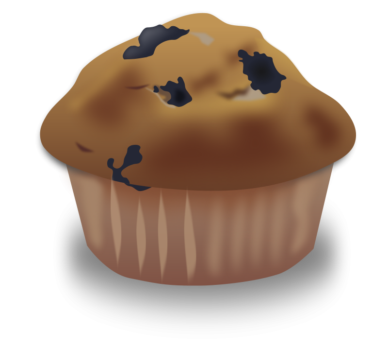 Free Blueberry Muffin