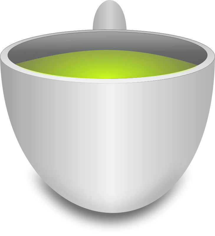 Free Clipart: Green Tea Cup | mkhuda