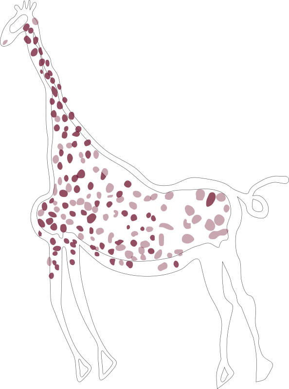 Free Rock Art Acacus Giraffe