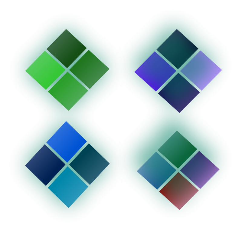 Free Color diamond shape