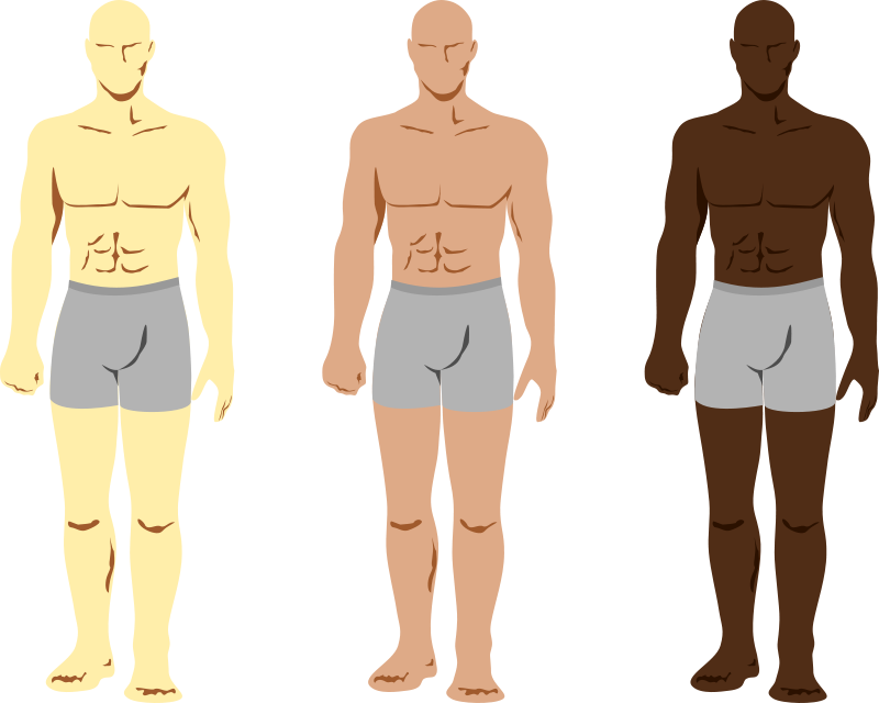 Free Siluetas personajes masculinos