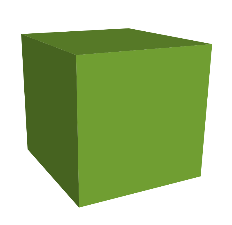 free clipart green cube jgm104 rh 1001freedownloads com cube clip art black and white cube clip art black and white
